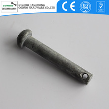 China made HDG cotter pin bolt