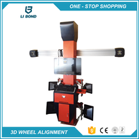 Easy for Operation Disc Wheel Aligners Machine for Car Shop