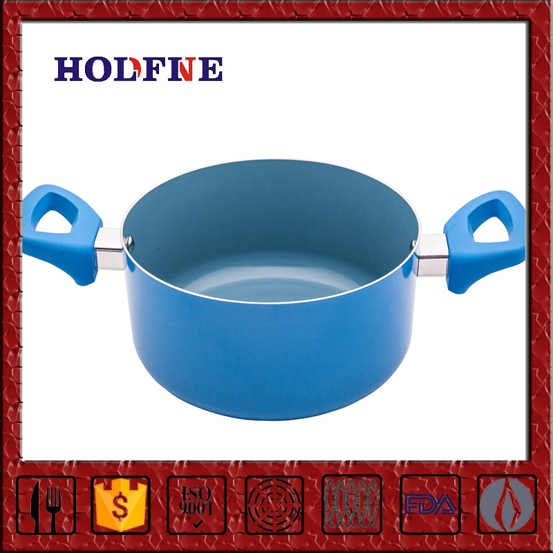 Home Kitchen Cooking Nonstick with Glass Lid Copper Bottom Stainless Steel Sauce Pan