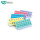 Weekly 7 Days AM/PM Pill Box Portable Travel Pill Organizer with Moisture-Proof Design