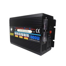 LCD/Diagram off grid 10A battery charger 1000W inverter
