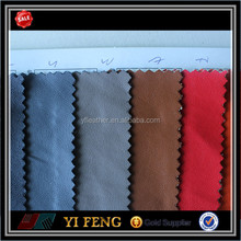 the newest design colorful artificial pu coating leather