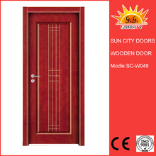 SC-W049 High quality solid wood louvre door used for home