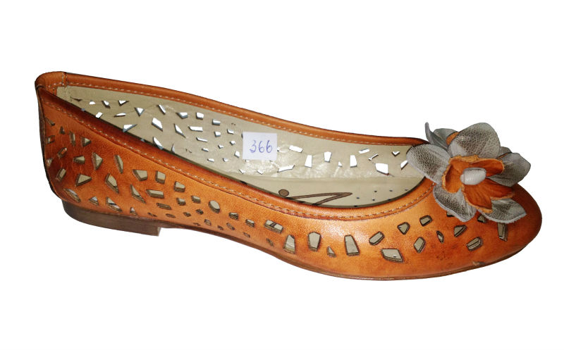 Portuguese Ballerina shoes made with 100% genuine leather