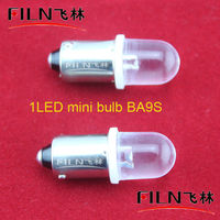 6VDC Energy Saving transparent head White ray Auto wedge bulb for T10 BA9S