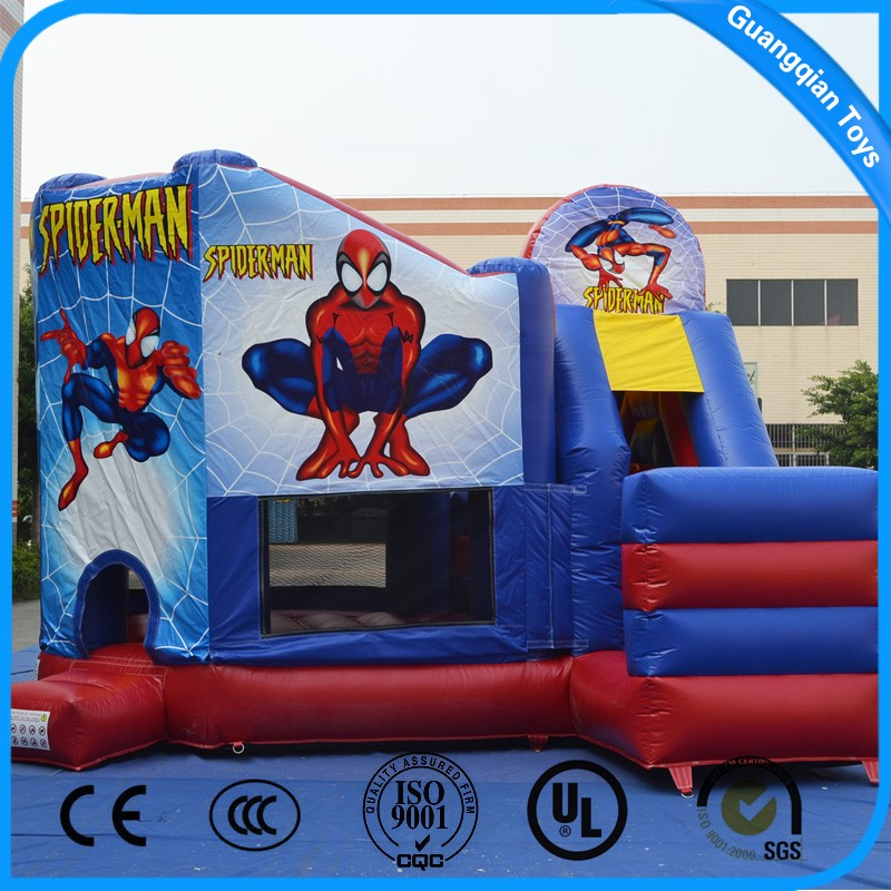 Outdoor Inflatable Jumping Castle with Slide for Children