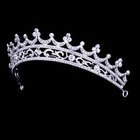 happy new year discount real diamond women's crowns and tiaras