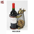 New Metal Cow Decorative Wine Bottle Holder