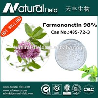Strictly testing before shipping trifolium pretense extract p.e.formononetin