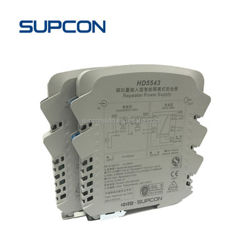 High density installation tempereture input stand analog output transmitter with 4-20mA output