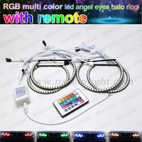 RGB remote control SMD 5050 ed angel eyes for bmw e46