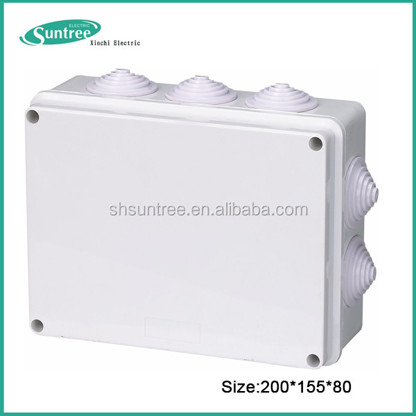 PVC junction electrical box
