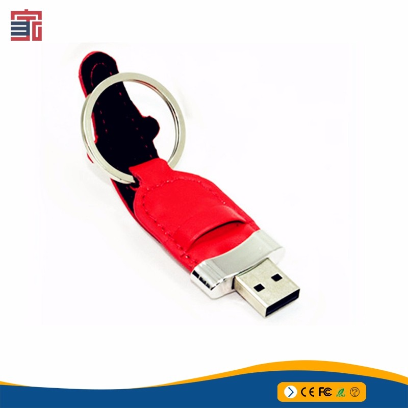 Bulk Custom Logo16gb usb stick leather usb flash drive made in china