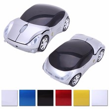 Sports Racing Road Mice Wireless Car Shaped Mouse
