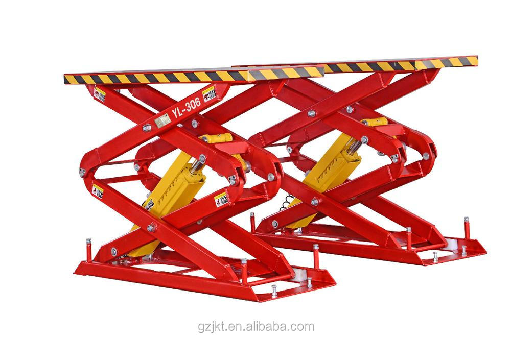 Garage equipment of YL-306 Auto Scissor Car Lift