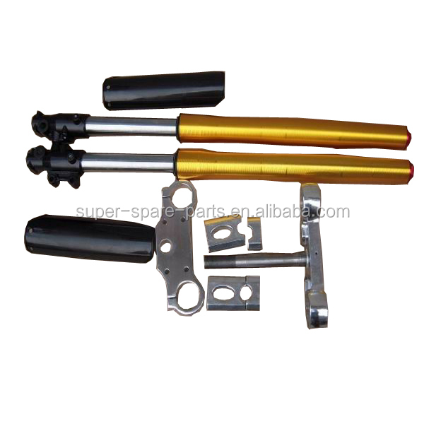 gold dirt bike pitbike 735mm best motorcycle front fork for sale