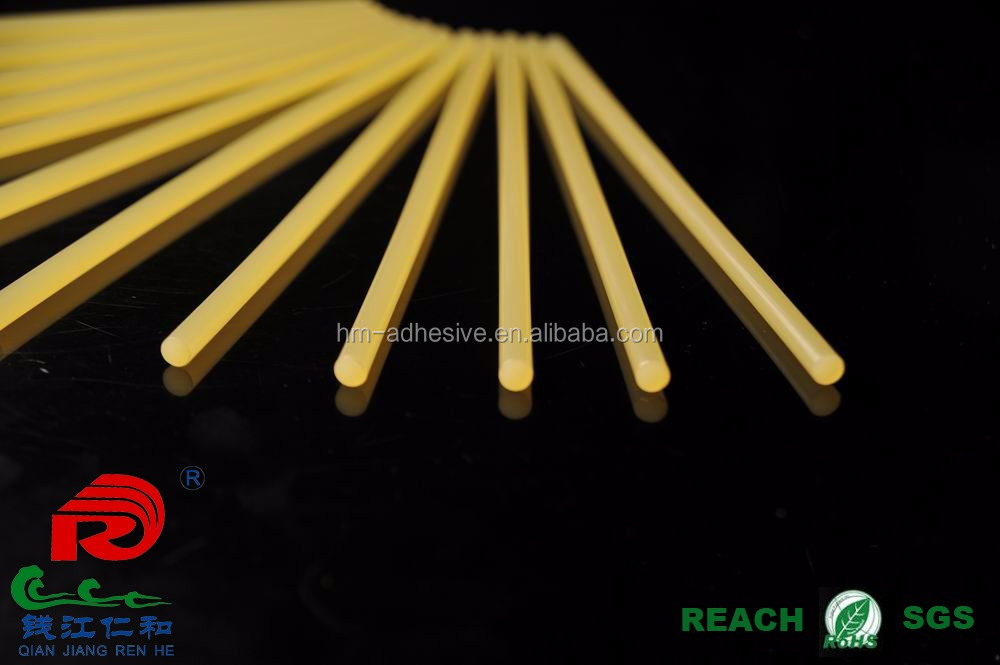 EVA and resin based hot melt adhesive stick for packaging production line