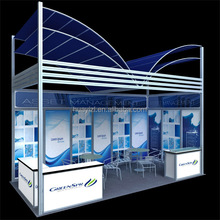 custom portable & modular 20ft Trade Show Display Booth, 6m tradeshow exhibition equipment