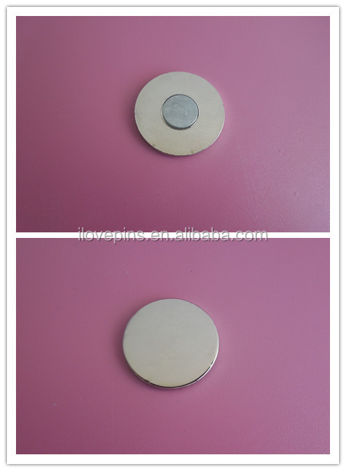 blank silver metal ball marker for promotion