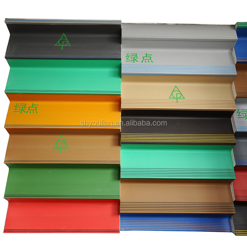 coin grain plastic stair step covers stair tread covers