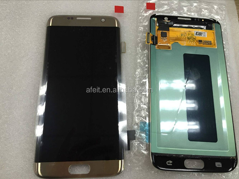 Lcd touch screen with digitizer assembly for samsung galaxy s7 edge repair