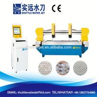 Alibaba china supplier strong three axis double waterjet cutting machine