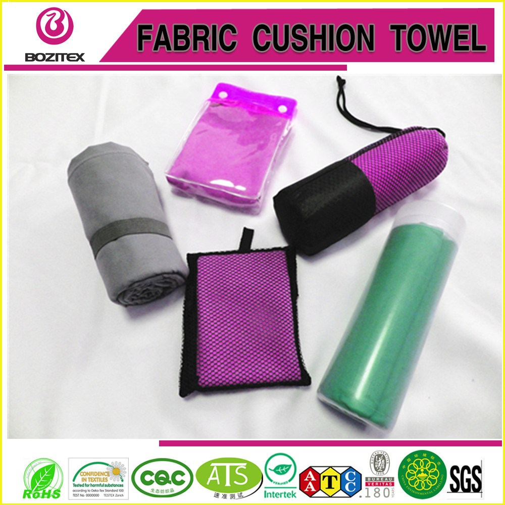 Gym Towel Online India: Fast Drying Customized Logo And Package Suede Microfiber