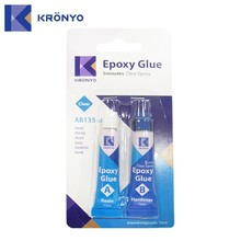 KRONYO super rubber to stainless steel epoxy ab adhesive ab glue