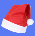 2017 new felt Santa Claus Hat for Christmas holiday decoration