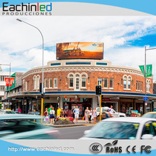 P8 large led screen outdoor pillar led display for commercial advertisement in the side of high road
