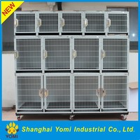 High-quality stainless steel / iron pet cage