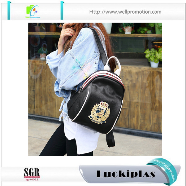 Hot Selling 2017 stylish Fashion Women Mini PU Leather Backpack For <strong>School</strong> Girls