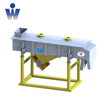 stainless steel horizontal vibrating screen for filtering stevia