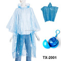 Emergency Disposable Rain Ponchos Various Colors