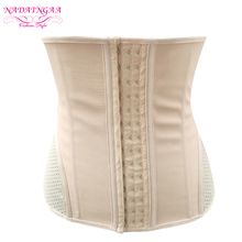 Wholesale 3 Hooks S-6XL Colombia Slimming Woman Latex Waist Trainer