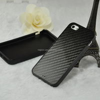2015 New Arrival TPU Back Case Cover For iPhone 5 5S Carbon Fiber Case Cover