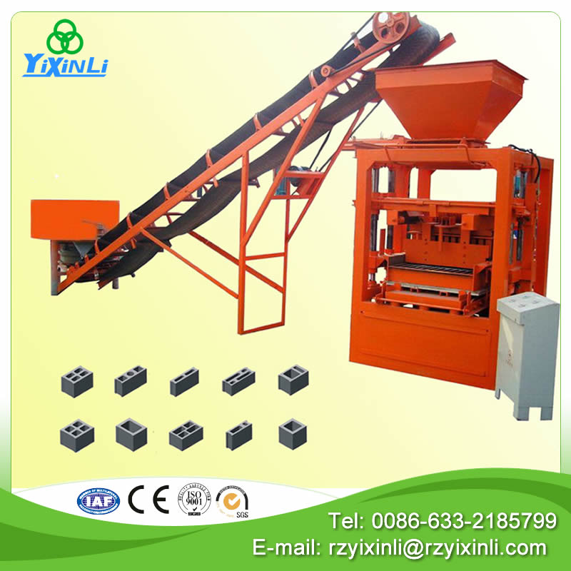 hot sale concrete block making machine price list