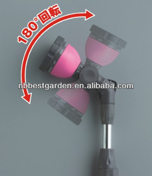 nozzle garden water wand spray long nozzle water jet spray