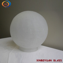 Frosted opal white glass globe/glass ball lamp shade