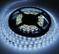 Outdoor solar powered led strip lights