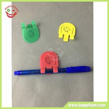 kinds of plastic Paper clip pen holder
