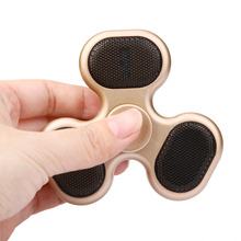 Music Fidget Spinner Spinner Bluetooth Mini Speaker Toy For Decompression Promotion Gift
