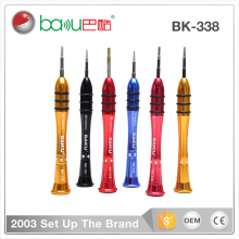 Hot Selling BK 338 rechargeable precision mini triangle mobile phone electric screwdriver for iphone