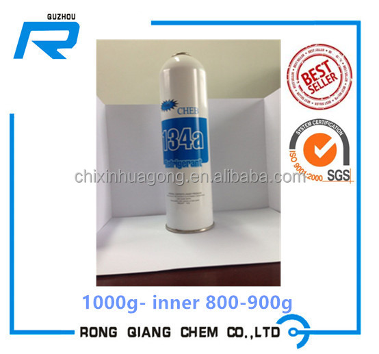 R134a Refrigerant gas, 1000g net weight