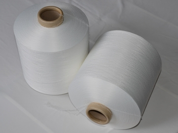 Polyester air covered yarn ACY 50D/48F+40D raw white AA grade