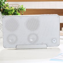 Funny stereo portable wireless connection wireless fm radio small wifi speaker