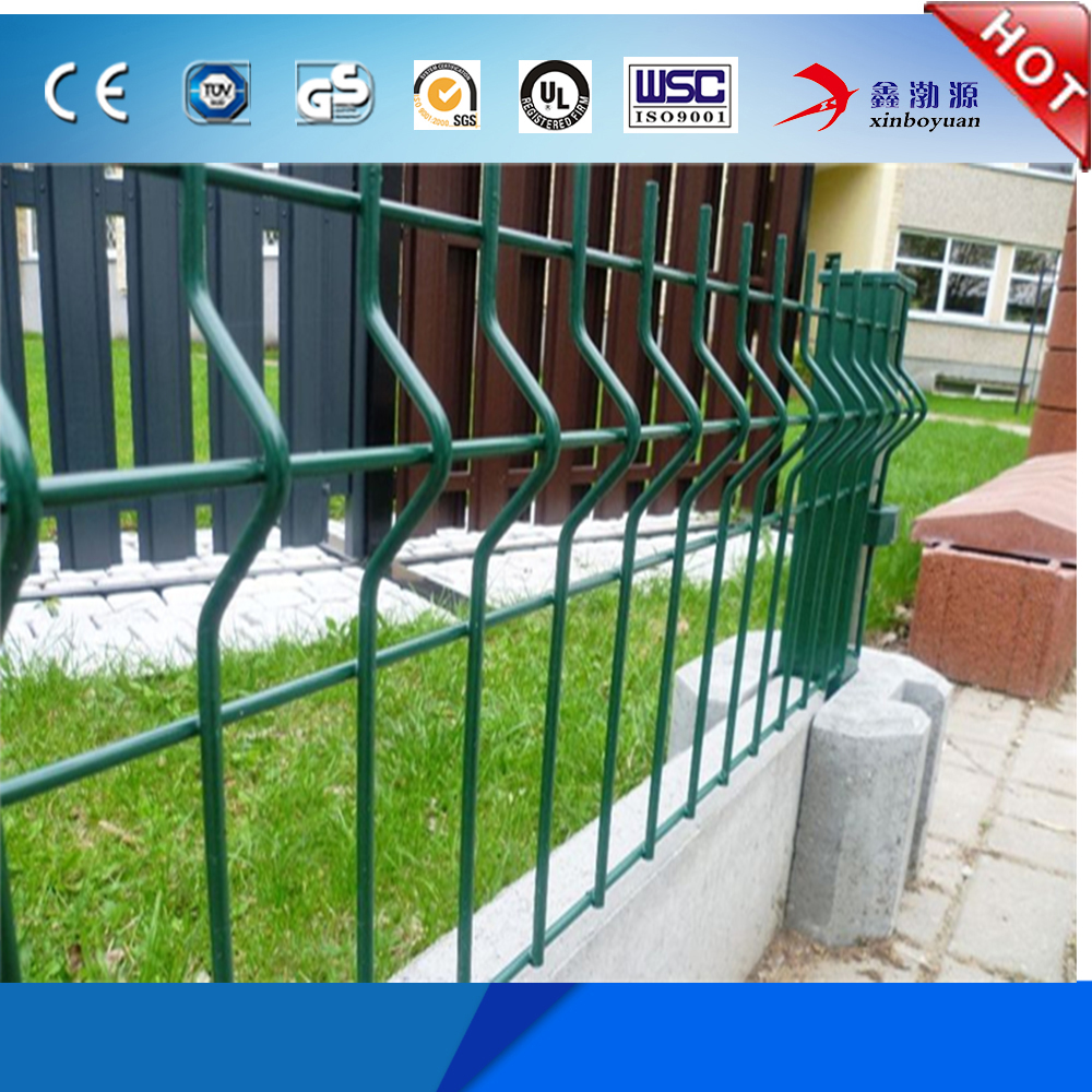 Hot Sale Factory Price Bending Triangle Fence Top Quality 2x2 Galvanized Welded Wire Mesh Panel