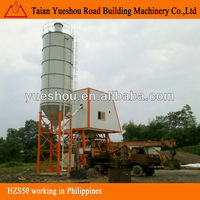 buy construction machine/concrete batching plant HZS50 in philippines