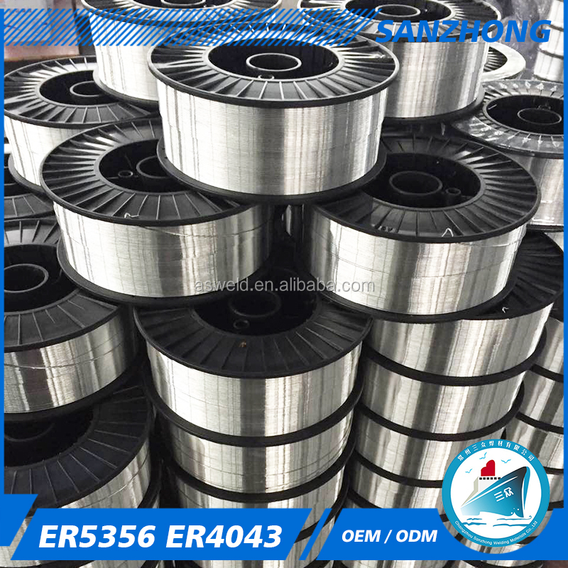 Aluminum/Aluminum Alloy Welding Wire Er5356 Er4043 With Factory Price High Quality CE ISO Cetificate