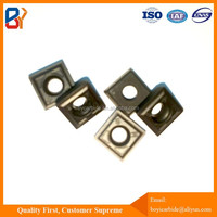 Metal milling inserts for face mill/tungsten carbide inserts for metal machining